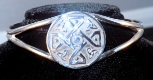 Celtic Cross Knot Cuff Bracelet