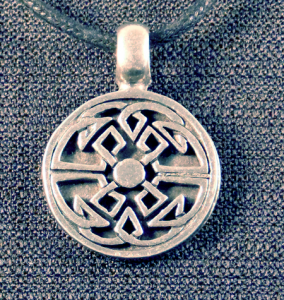 Celtic Round Tribal Knot Necklace