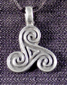Celtic Triskele (Triple Spiral)